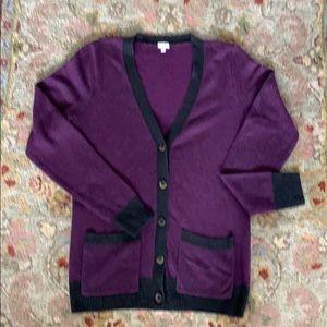 J.Crew V-neck Cardigan Sweater. Size S